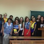 Фонд «Диалог на русском» провел открытый урок для студентов Таврической Академии КФУ