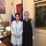 Встреча с министром культуры Республики Крым Арины Новосельской