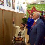 Открылась новая выставка Ольги Морозовой «Рисуем книгу»