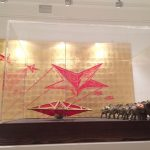 На открытии выставки Алексея Беляева-Гинтовта «Х»